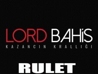 Lordbahis Rulet
